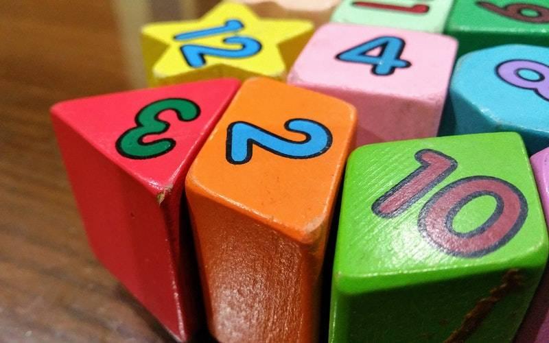 Colourful number blocks. Image: Digital Buggu via Pexels