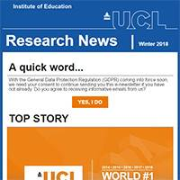 IOE Research News: Winter 2017-18