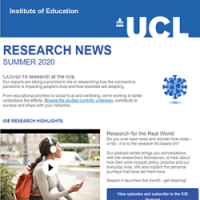 Thumbnail of the Research News Summer 2020 issue