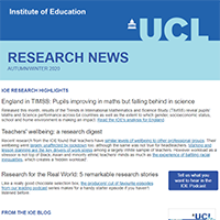 Thumbnail of Research News email newsletter - Autumn/Winter 2020 issue