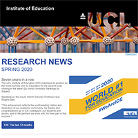 Research News, Spring 2020 preview