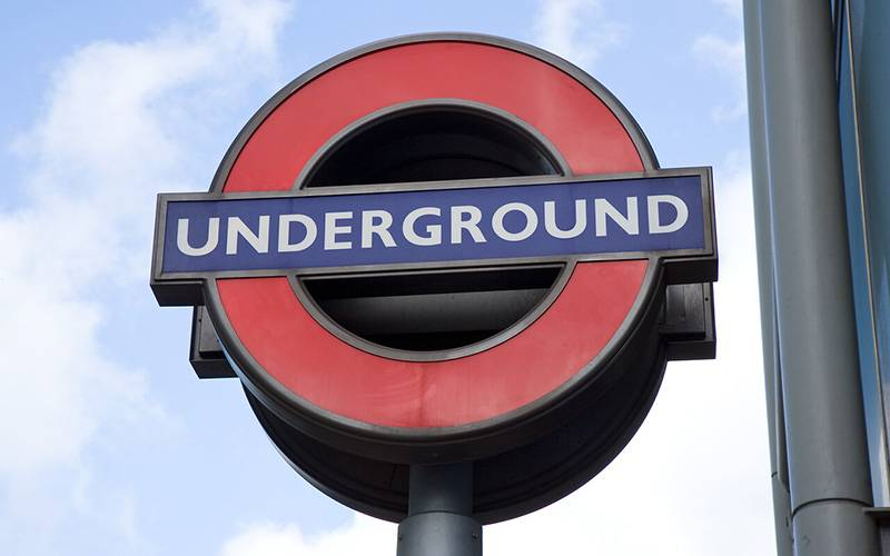 Underground sign. Image: Mary Hinkley for UCL