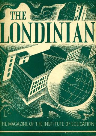 Cover of The Londinian, the magazine of the Institute of Education