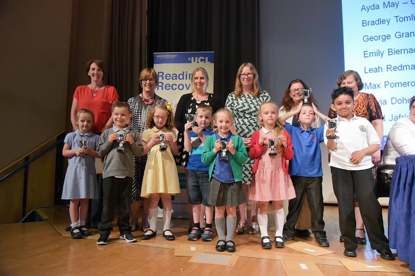Reading Recovery Awards