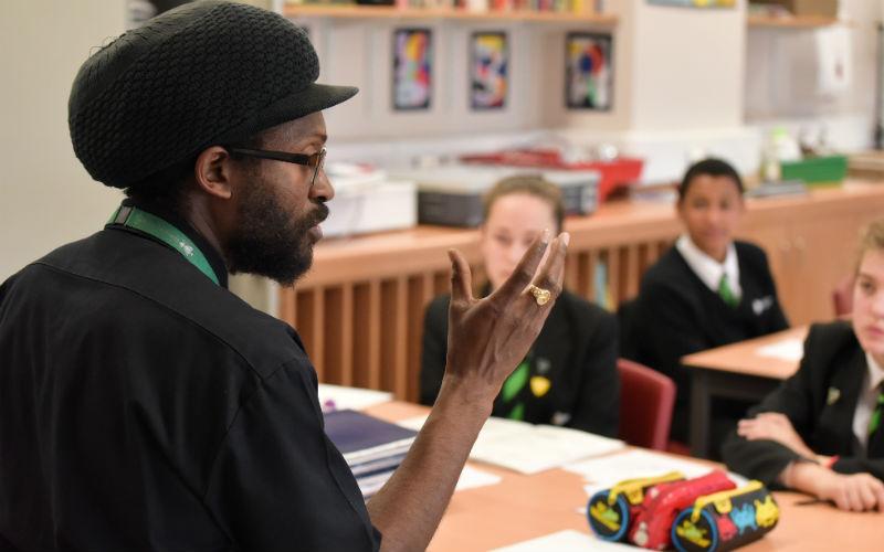 Deptford Green teacher