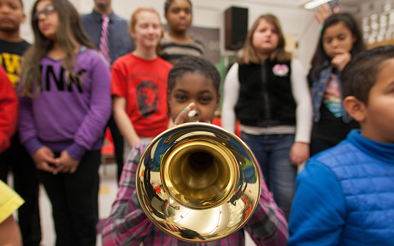 Trumpet. Image: Phil Roeder (CC BY 2.0)