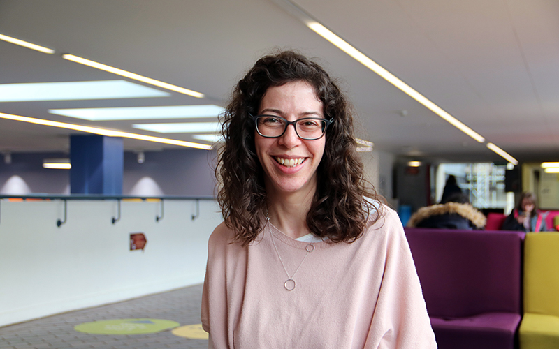 Victoria Henshaw, trainee History teacher