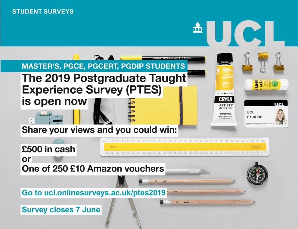 Postgraduate Taught Experience Survey—Now Open   IOE Student