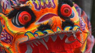 A picture of Chinese Dragon