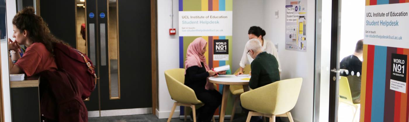 IOE Student Helpdesk Photo