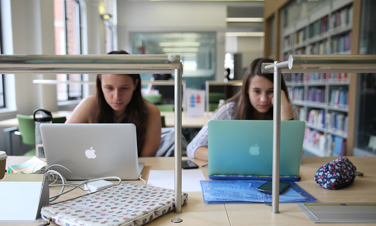 ION Library students