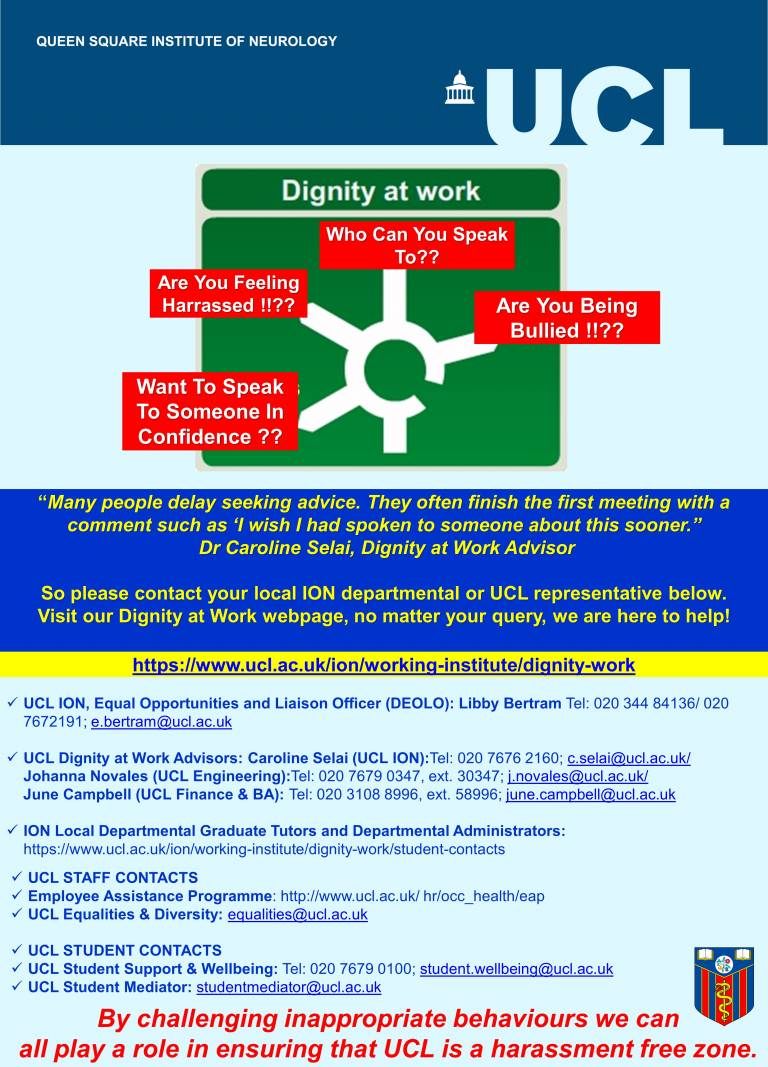 Dignity at Work poster