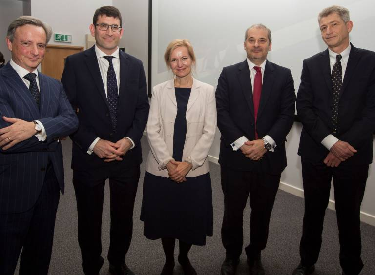 Inaugural lecture group