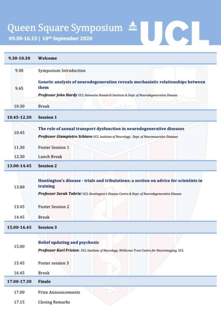 QSS 2020 programme