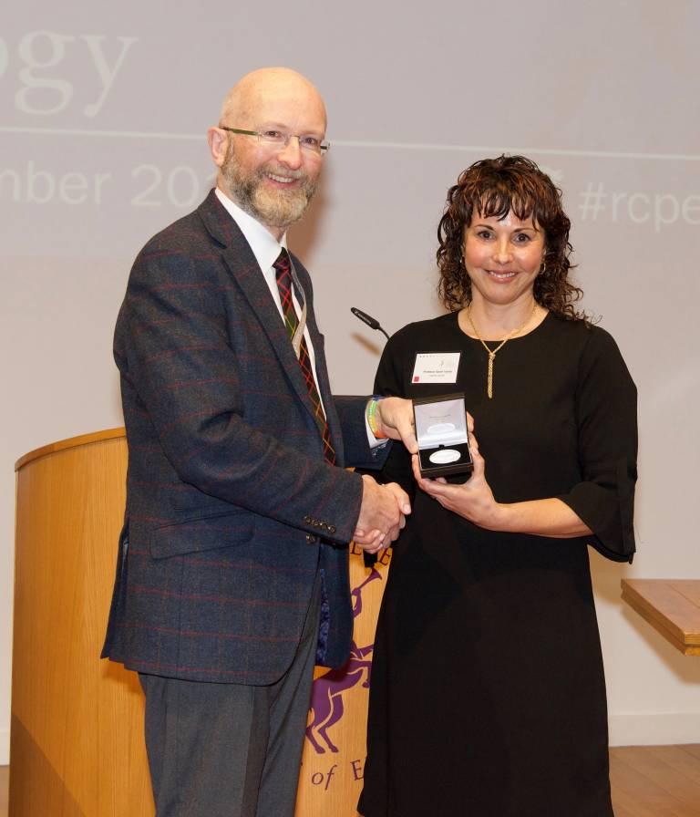 Professor Tabrizi Alexander Morison medal