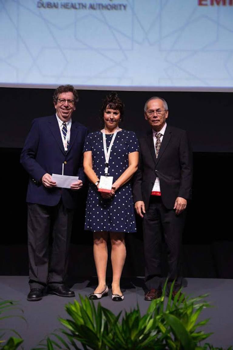 Sarah Tabrizi Yahr award presentation