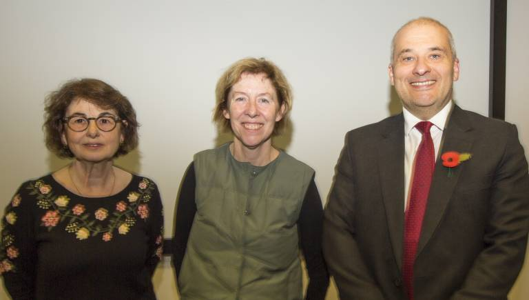 Fiona Watt, Gill Bates, Mike Hanna