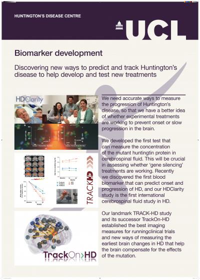 Biomarker development poster