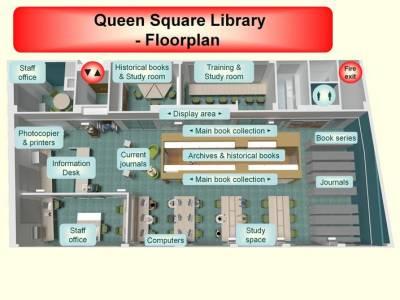 Library floorplan