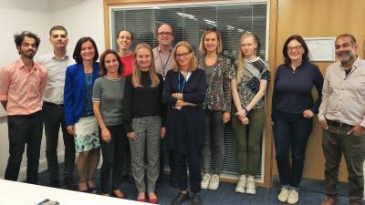 Photo of Neuromuscular Masters students with course organisers and project supervisors 2019