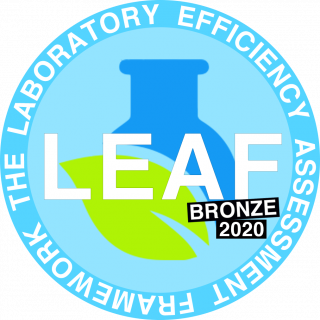 LEAF bronze logo