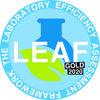 LEAF gold logo