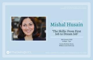 Mishal Husain talk