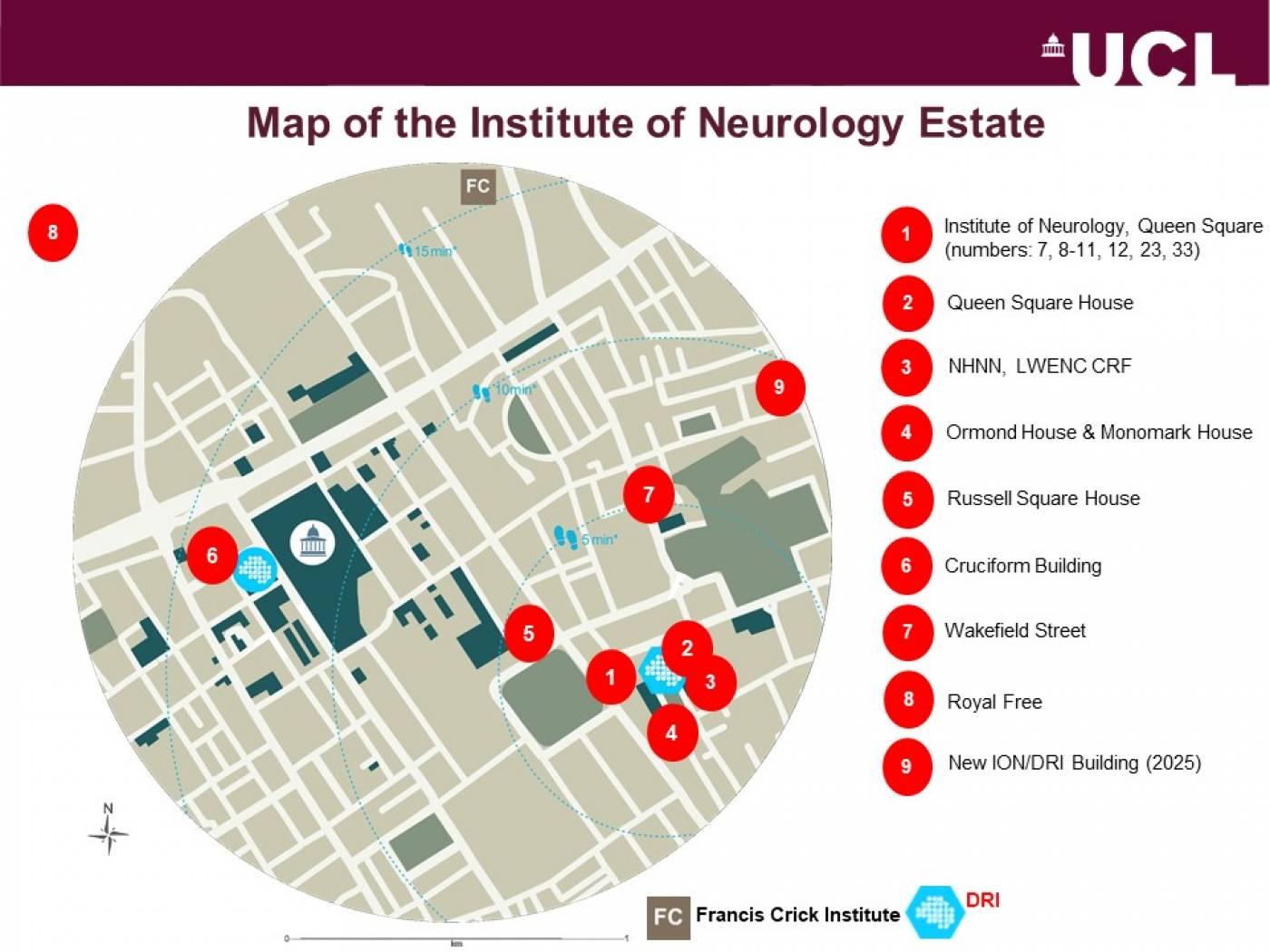 IoN estates map