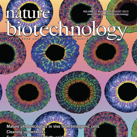 Nature Biotechnology Cover 2013
