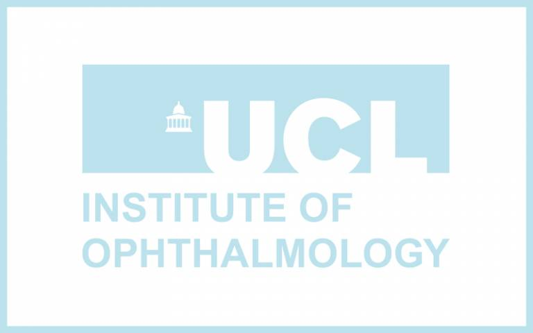 UCL Institute of Ophthalmology blue logo