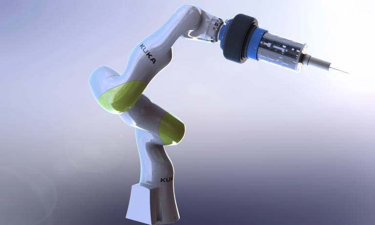 Example of a robotic surgical system