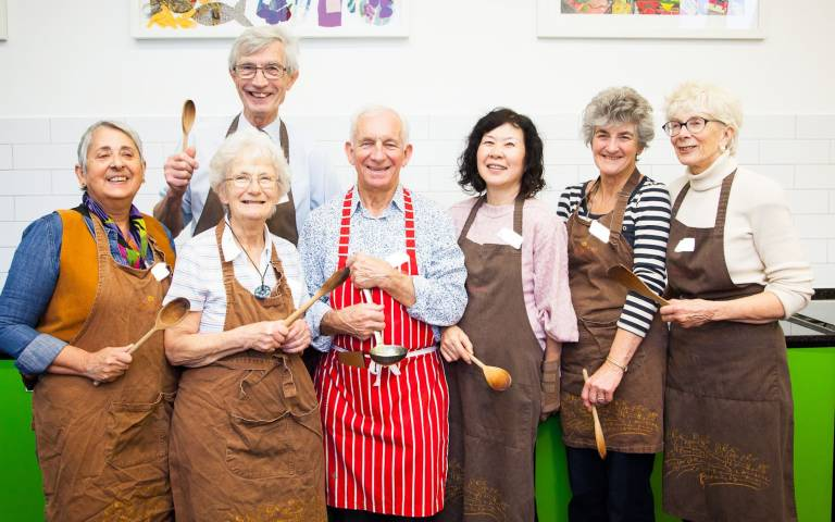The Eating for Eye Health cookery workshop…