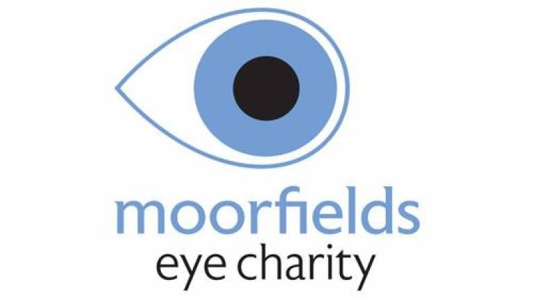 Moorfields Eye Charity Logo