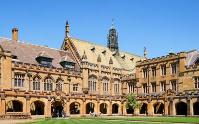 University of Sydney, Australia. One of the contributing institutions
