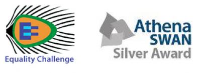 Equality Challenge and Athena SWAN Silver logos