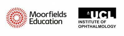 Moorfields Education and UCL Institute of Ophthalmology logo