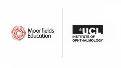logo of join partnerships with moorfields
