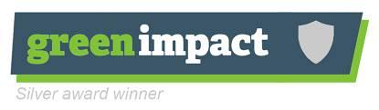 Green Impact Silver Award logo