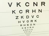 Eye chart…