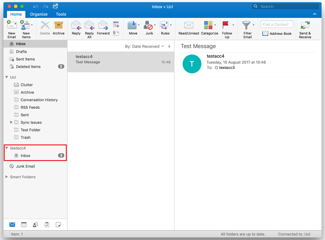Open a shared mailbox in Outlook 2016 for Mac   Information Services