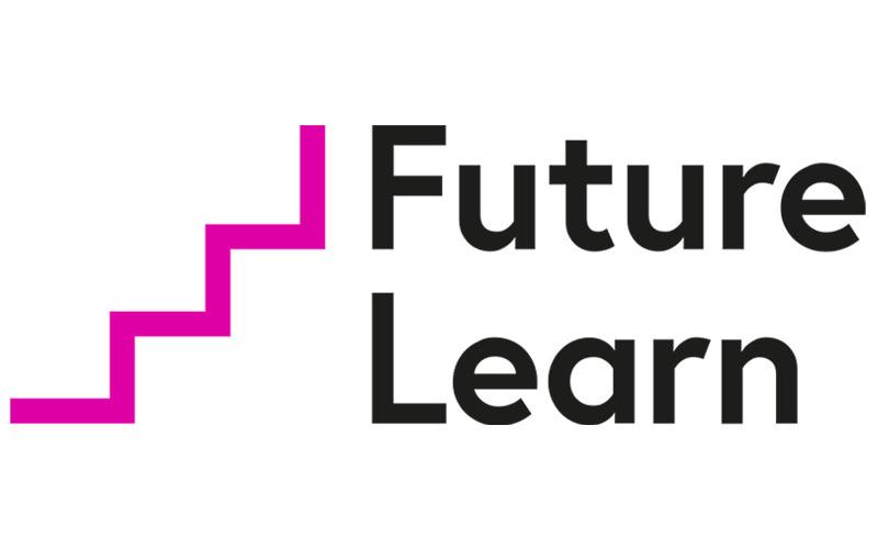 The logo for FutureLearn