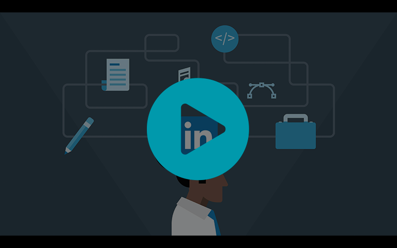 LinkedIn Learning - Gaining skills video screenshot