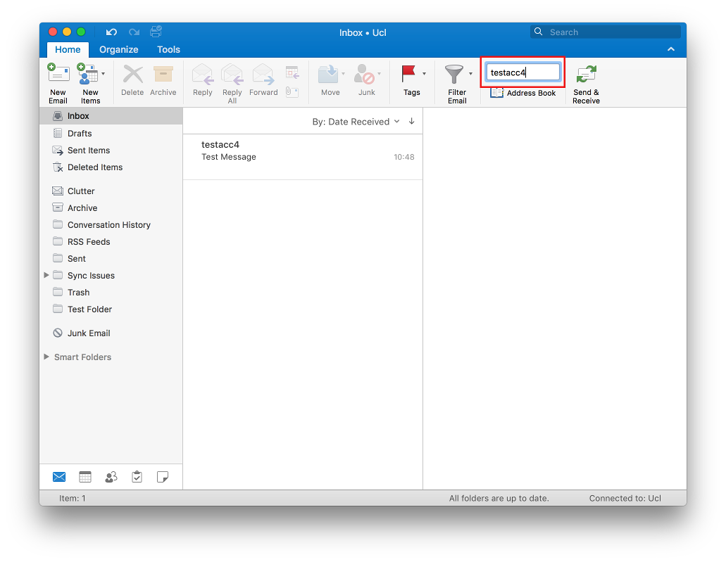 Find a contact in Outlook 2016 for Mac | Information