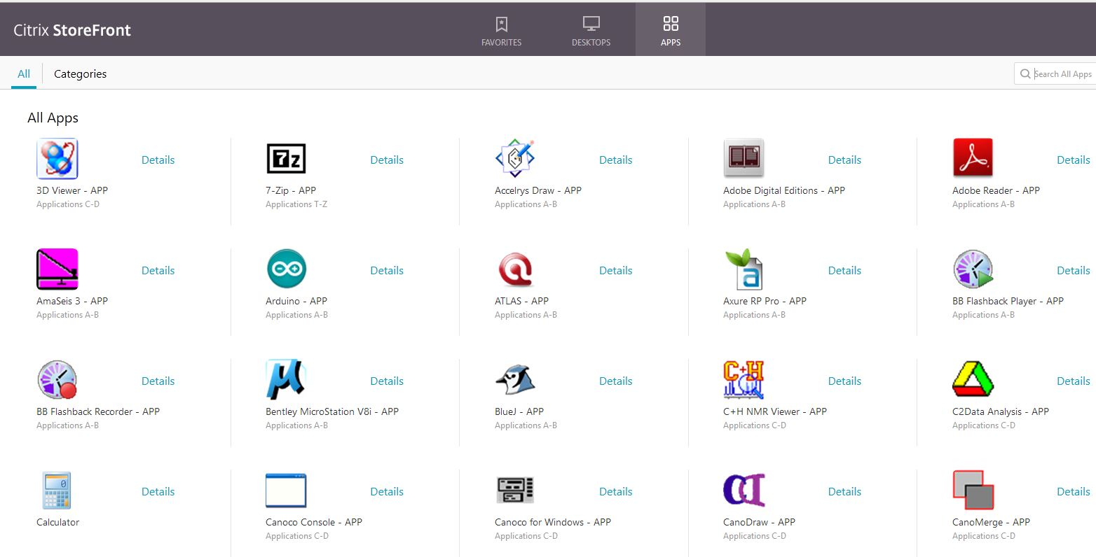 Desktop@UCL Anywhere: Using the Citrix StoreFront