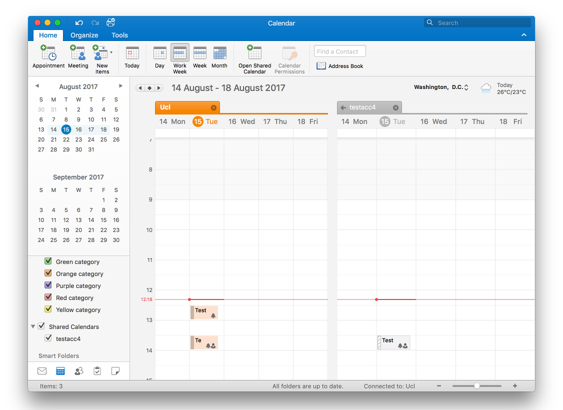 Cant Log Into Shared Calendar On Outlook For Mac