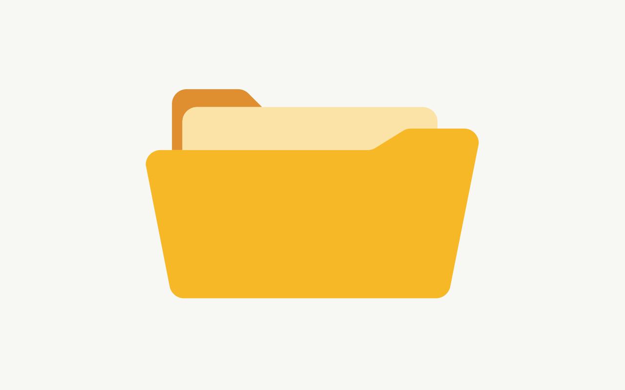 Document folder icon