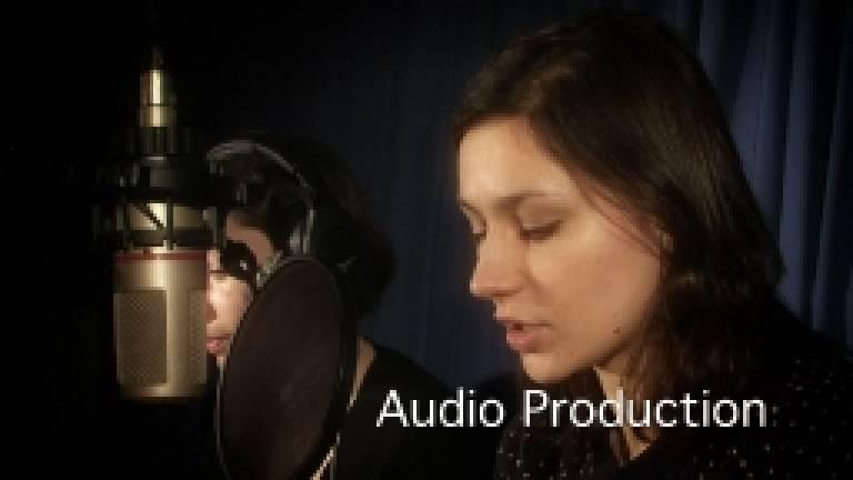 Audio production…
