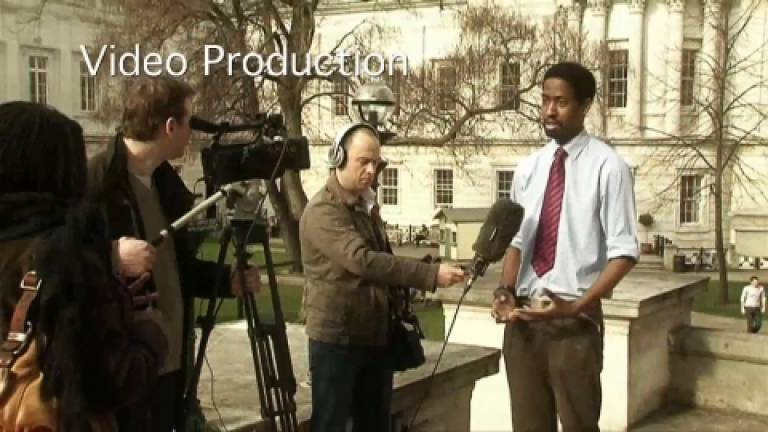 Video production…