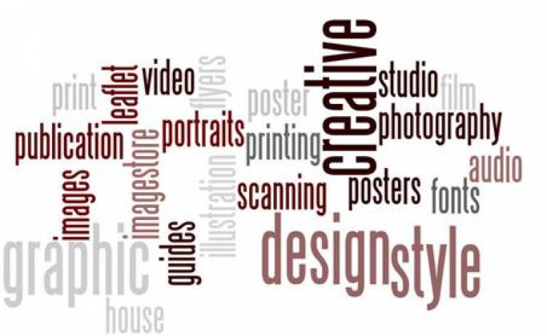 Creative Media Services word cloud image…