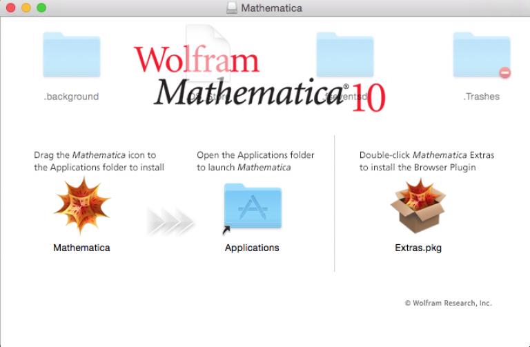 Install Mathematica…